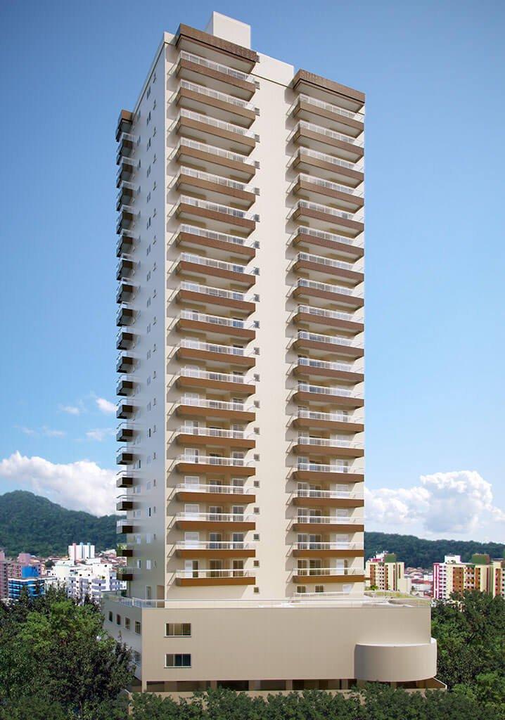 Fachada Fundos - Residencial Santa Rita de Cássia - Construtora JR e Garcia