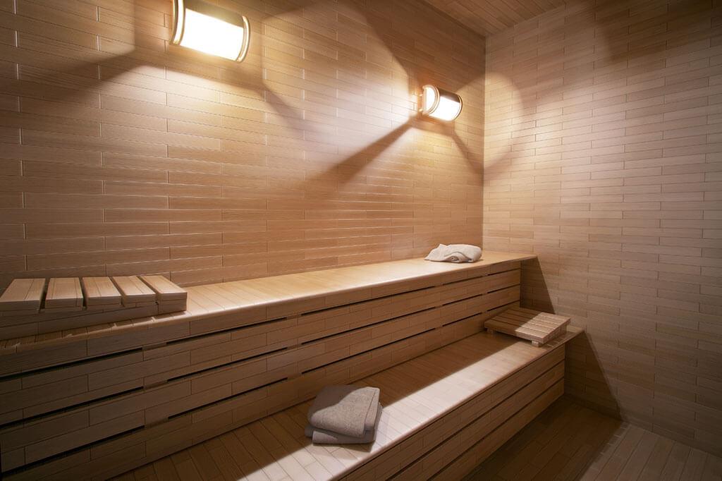 Sauna Seca - Residencial Santa Rita de Cássia - Construtora JR e Garcia
