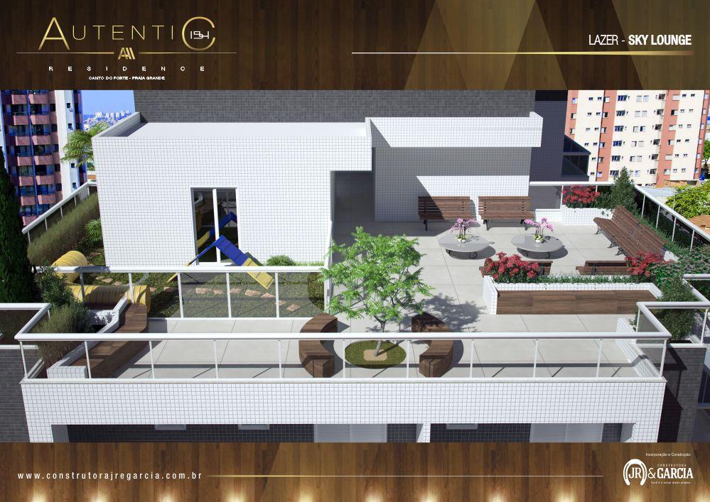 Sky Lounge - Autentic 154 Residence - Canto do Forte, Praia Grande